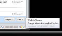 Google Wave Add-on for FireFox